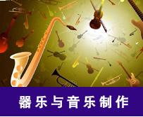 yzc888演艺学院-器乐与音乐制作